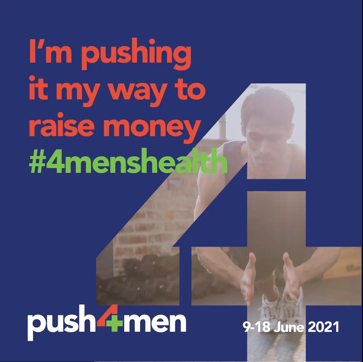 Social Tile - Push to Raise Money for Men's Health